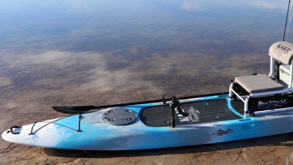 New From Kaku Kayak This Fall: The Voodoo Fishing Paddle Craft