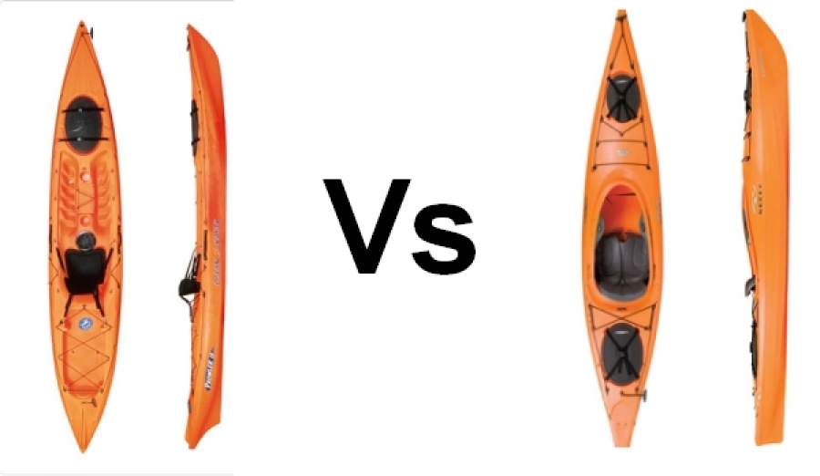 Sit in vs sit on top kayaks for Sit on vs sit in kayak for fishing