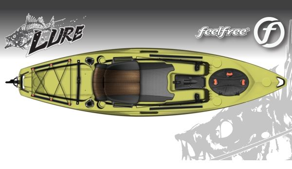 Feelfree kayaks taking kayak fishing to new heights