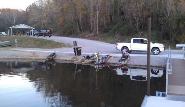 The Live Fall Tournament hosted by the Tennessee Kayak Anglers