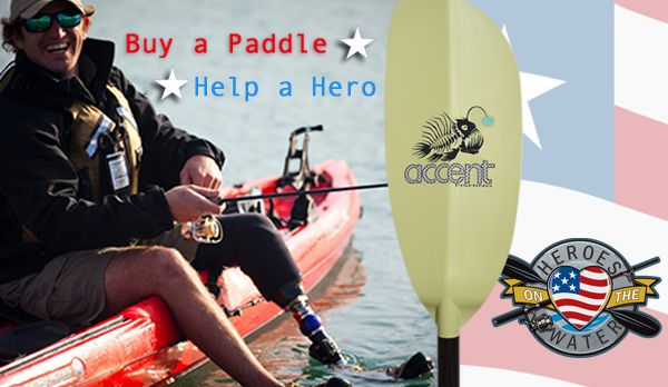 "Accent Paddles Announces ""Hero Angler"" program to support HOW"