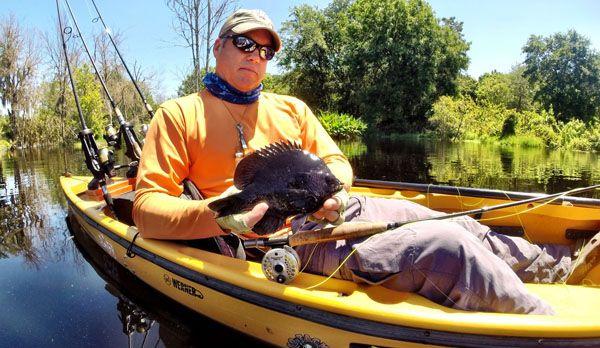 Florida freshwater pit fishing for Freshwater kayak fishing