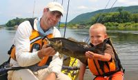 Catch Summer Smallmouth In Low Water