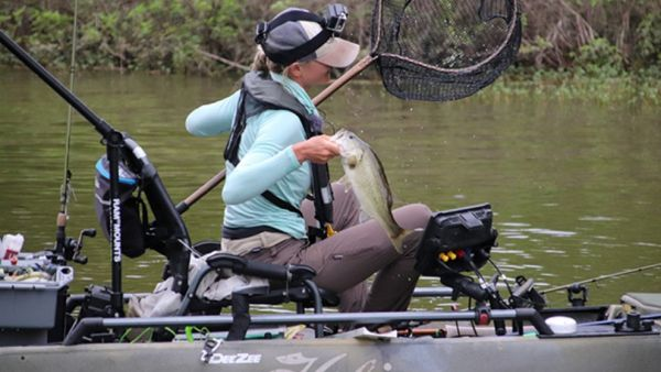 Top Honors for Elite Kayak Angler Kristine Fischer At Hobie Bass Open Series on Kentucky Lake