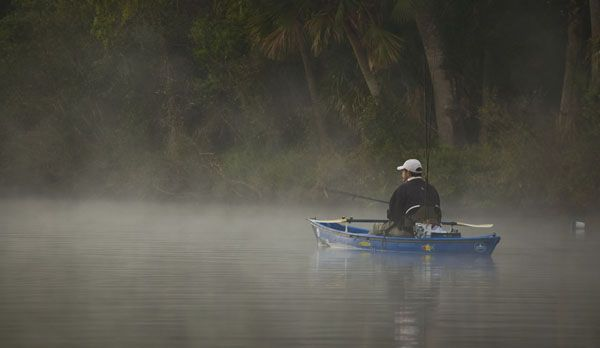 Fog, Beavers, Big Lizards and more Redfish