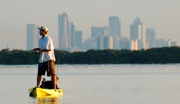 Top 10 US Kayak Fishing Locations 2012
