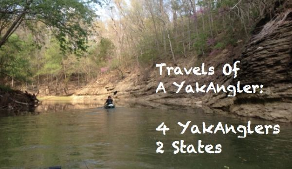 Travels of a YakAngler #1 – Four YakAnglers, Two States