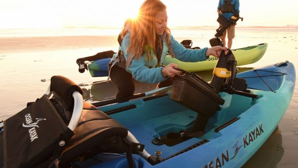 New Malibu Pedal Now Available From Ocean Kayaks