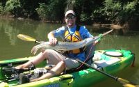 43 in  Catawba River, SC, USA   23-July-2013 Stewart Venable