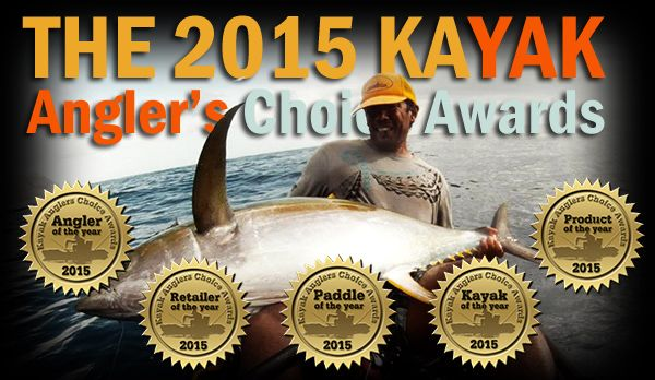 2015 Kayak Angler's Choice Awards Winners