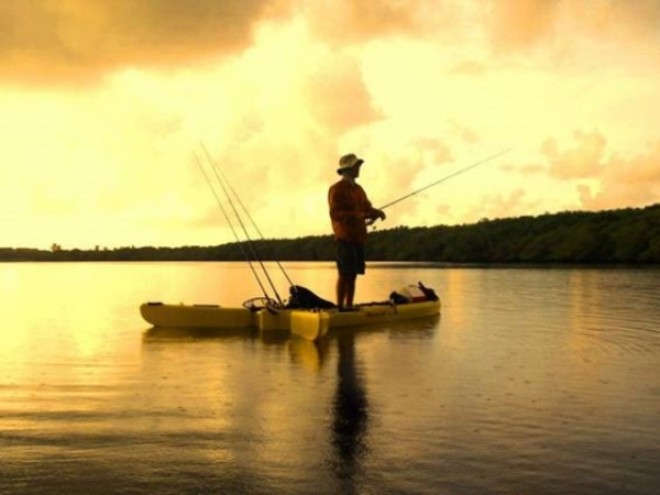 A new style of Kayak for the kaYAK angler