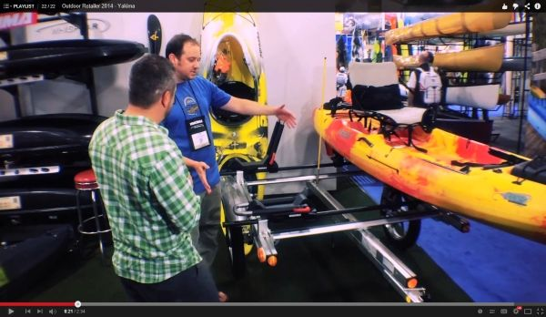 OR 2014 - Yakima Fishing Kayak Trailers