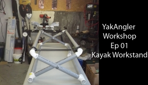 Ep 01: Kayak Work Stand