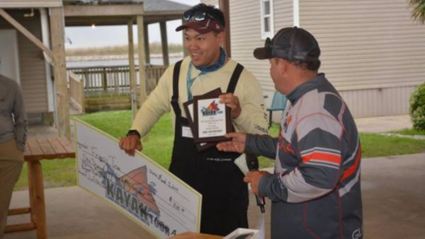 Tran Wins IFA Kayak Fishing Tour Event at Lafitte, Louisiana