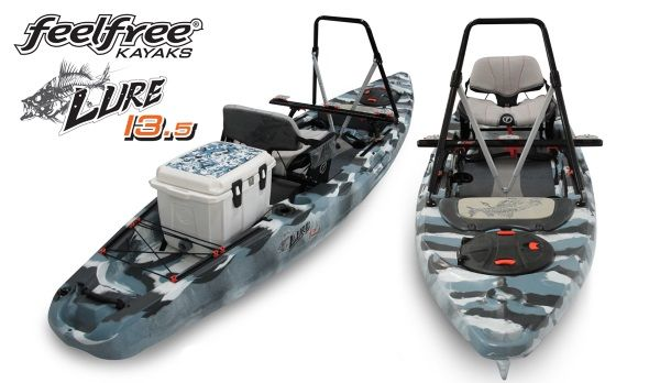 "Feelfree ""Lure 13.5"" Fishing Kayak Announced!"
