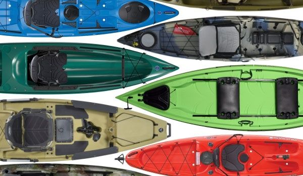 Top 10 Fishing Kayaks 2012