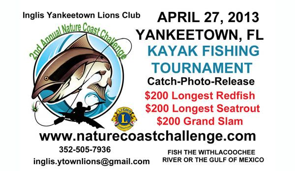 2nd Annual NATURE COAST CHALLENGE