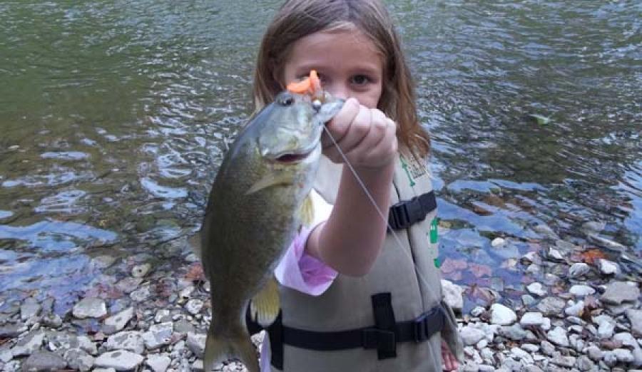Pass it on take a kid fishing for Take a kid fishing
