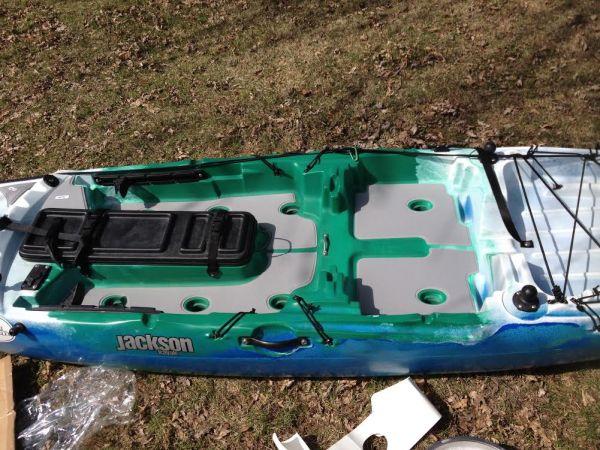 Jackson Kayak Cuda 12 SeaDek Kayak Pads