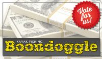 """Is the Kayak Fishing Boondoggle """"moving on up?"""""""