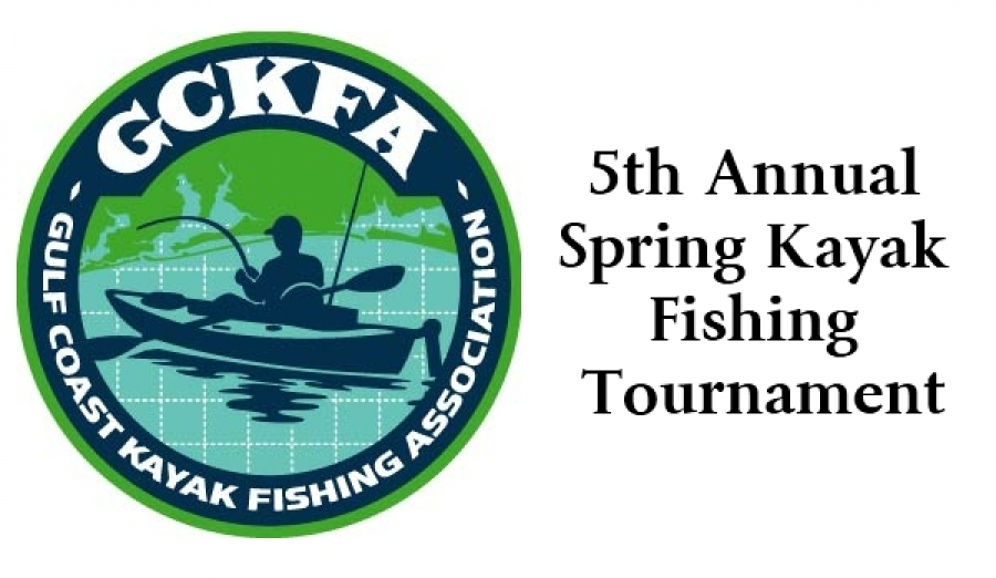 5th annual gckfa spring kayak fishing tournament for Kayak fishing tournaments