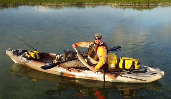 Fishing Kayaks for the Big Guys