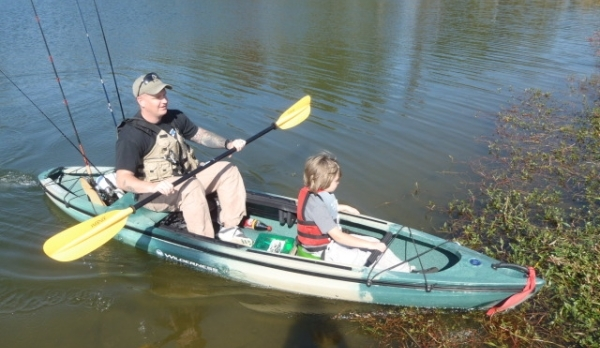 Kayak Fishing With Ft. Benning's MWR and WTB