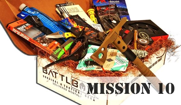 BattlBox Mission 10 Christmas