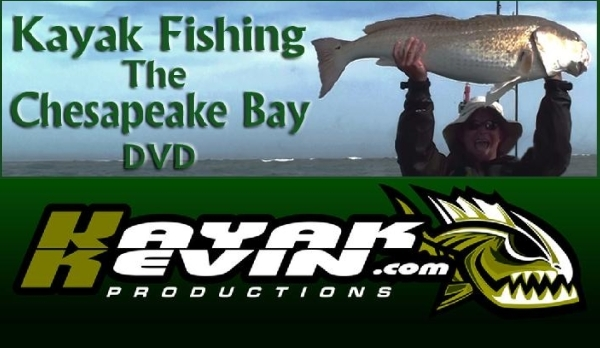 Kayak Fishing The Chesapeake Bay DVD