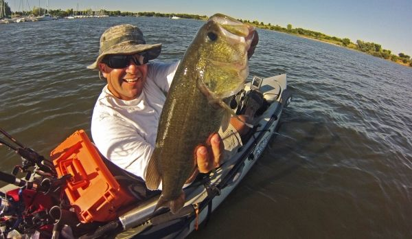 Spooky bass kayak fishing tournament for Bass pro fishing kayak