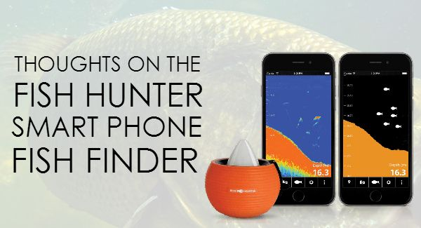 on the fish hunter smart phone fish finder, Fish Finder