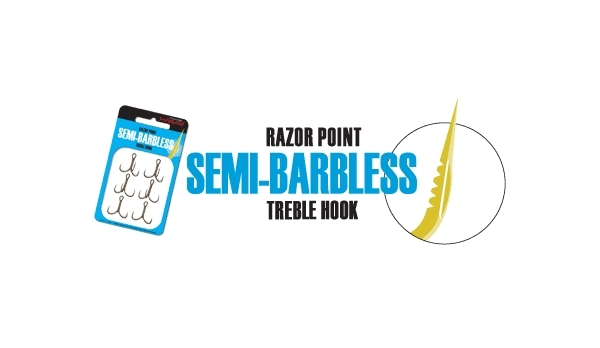 Maruto Semi-Barbless Hooks