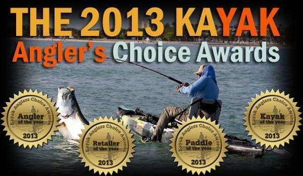 2013 Kayak Angler's Choice Awards  Winners