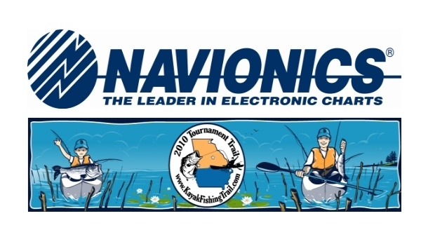 Georgia Kayak Fishing Foundation announces Navionics as a Platinum Sponsor for the Georgia Kayak Fishing Tournament Trail