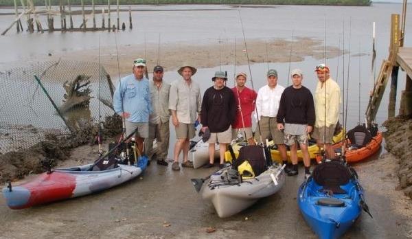 Kayak fishing chokoloskee florida for Chokoloskee fishing report