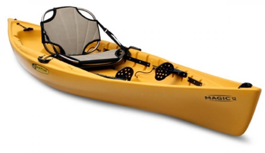 Native 39 s magic fishing kayak for Kayak accessories for fishing
