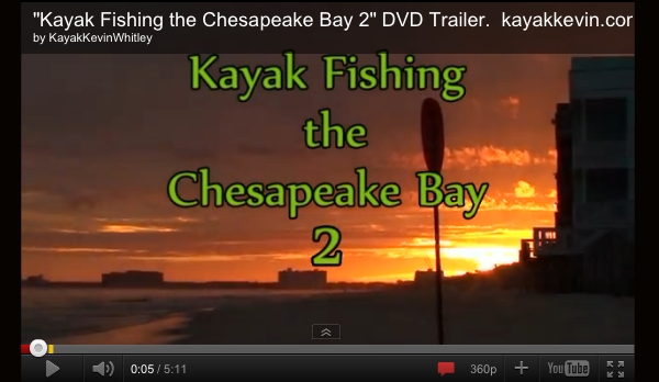 Kayak Fishing the Chesapeake Bay 2