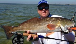 Fly fishing winter negative low tides – flounder slam!