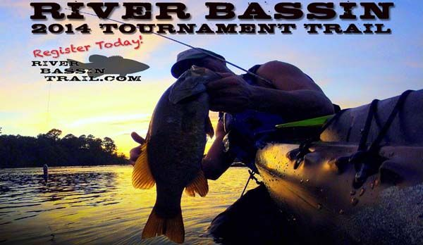 2014 River Bassin' Tournament Trail