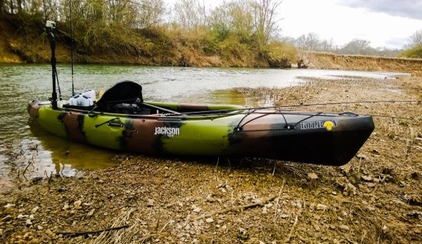 Sliming your kayak