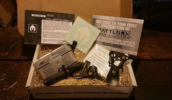 Unboxing BattlBox Mission 1 - Is It Worth It?