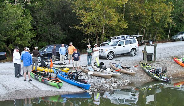 The Tennessee Kayak Anglers held their Fall 2013 Tournament