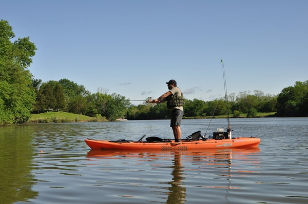 How To:  Standing and Kayak Fishing