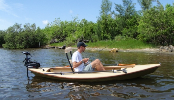 Dragonfly Boat Works:  Fly Fisher