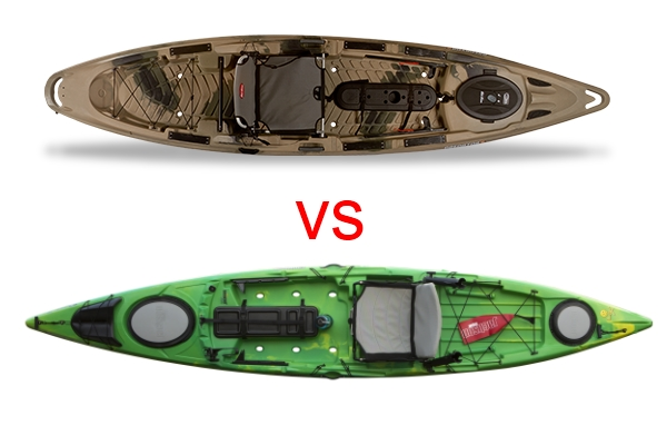 Cuda 14 vs predator 13 1 2 yakangler for Canoe vs kayak fishing