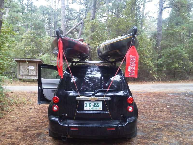 Help With Kayak Transportation Methods 1 4 Yakangler
