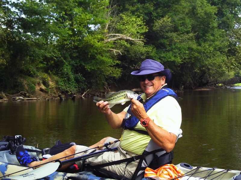 9 20 2013 rappahannock river trip 1 1 yakangler for Freshwater kayak fishing