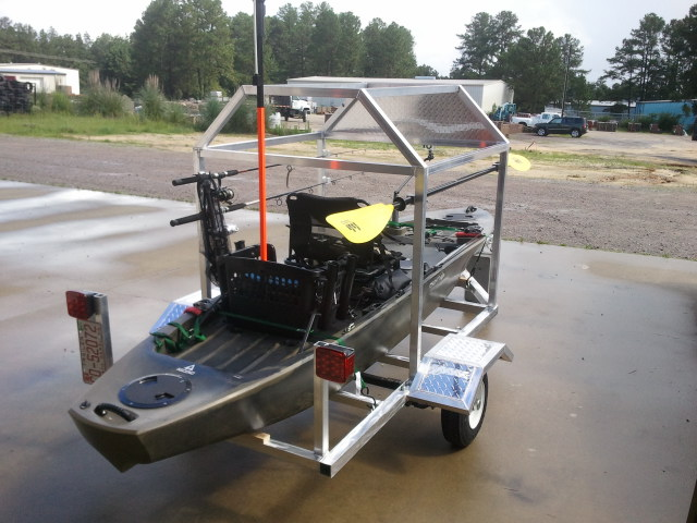 Custom Aluminum Kayak Trailers 1 3