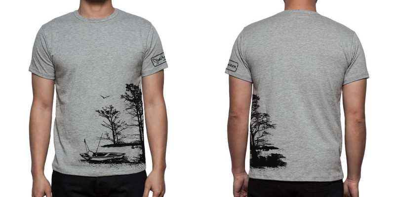 Yakangler swamp and river kayak fishing shirts 1 4 for Fishing shirt of the month