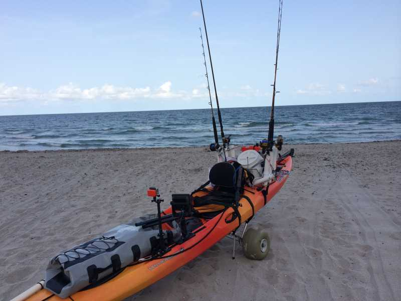 More build kayak rudder system distance for Fishing kayaks for sale near me